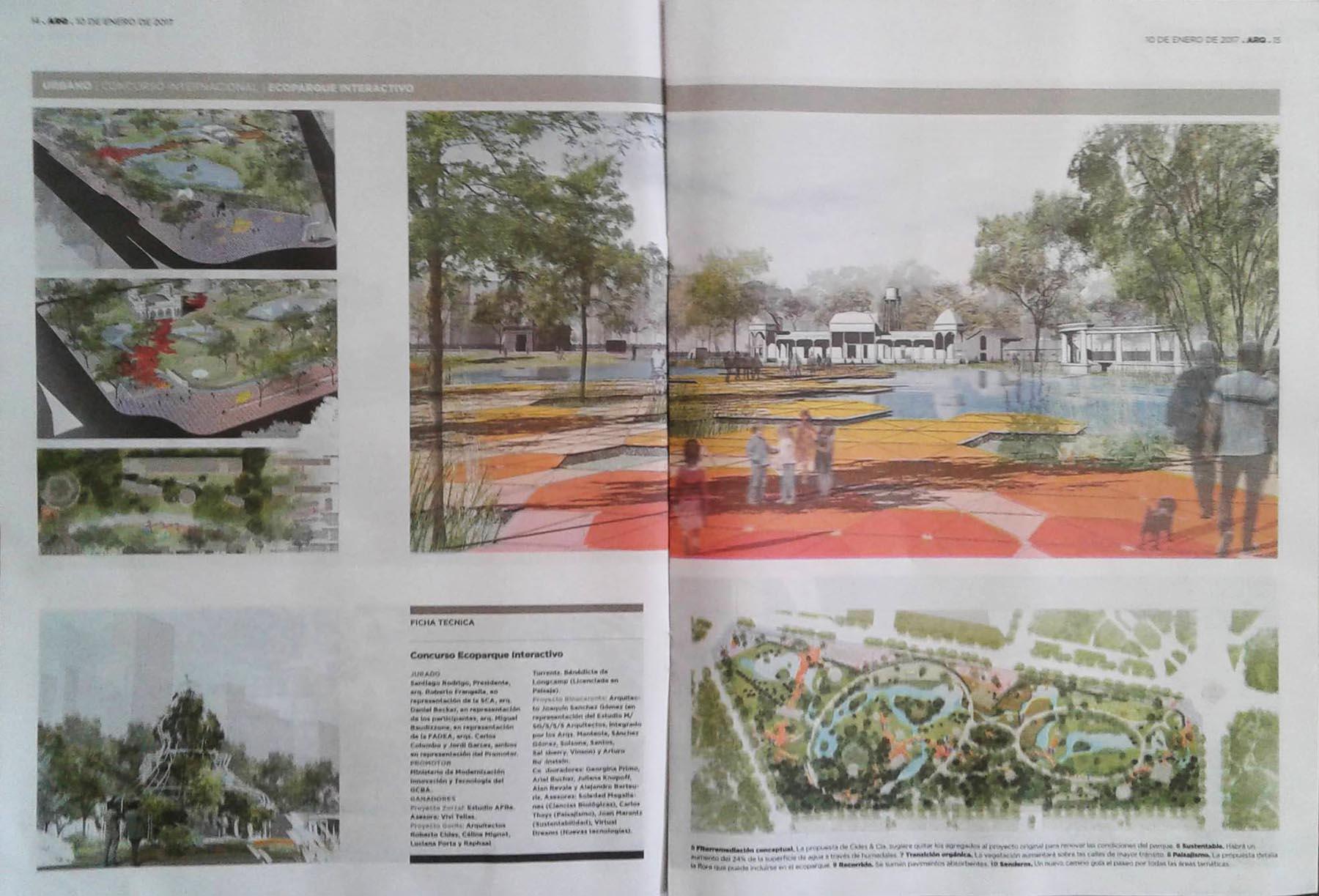 Ecoparque Clarin Arquitectura